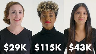 Women with Different Salaries on What they Feel Guilty Buying | Glamour