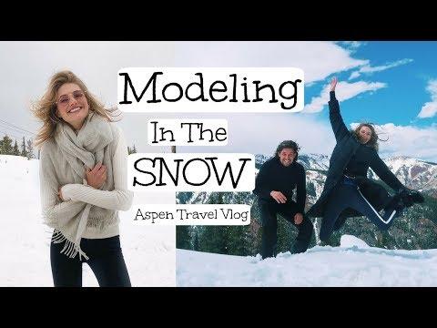 Modeling in the Snow | Aspen Snowstorms, Dutch Models, & Photoshoots | Sanne Vloet