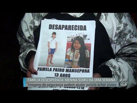 Família procura menina que desapareceu após deixar bilhete misterioso | Primeiro Impacto (29/06/18)