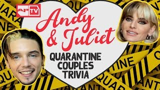Andy Biersack and Juliet Simms: How Well Do They ACTUALLY Know Each Other? YouTube Videos