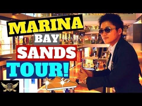 DOPE MARINA BAY SANDS TOUR + LOUIS VUITTON SHOPPING  |  Karen Trader Vlog 019
