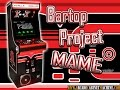 © Arcade Cabinet Machine - Bartop Project MAME Vector