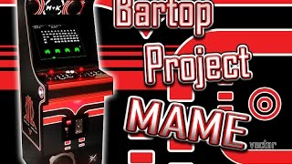© Arcade Cabinet Machine - Bartop Project Mame Vector