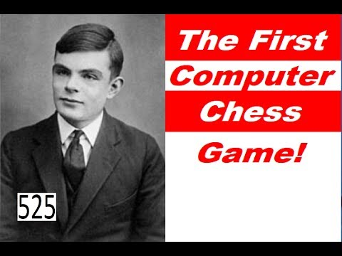 The First Computer Chess Game Ever Played!