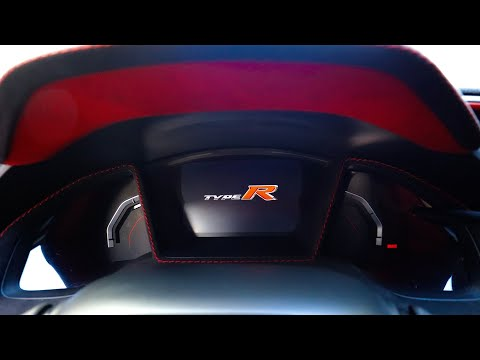 Sweidit Alcantara Gauge cluster trim for Honda Civic Type R FK8