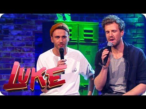 Musikduett mit Luke und Clueso - Lieder nach Bildern (Metapher) - LUKE! Die Woche und ich