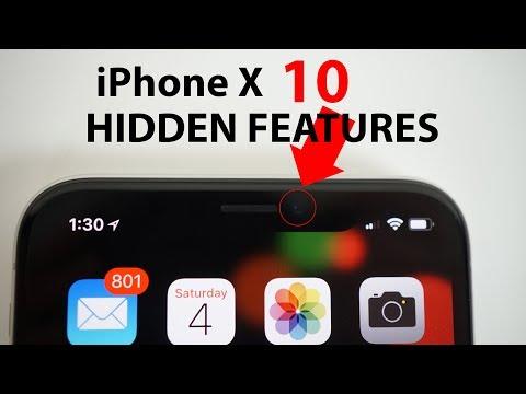 IPhone X - 10 HIDDEN FEATURES!