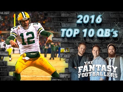 Early QB Rankings Show Part 1 - Ep. #198 - The Fantasy Footballers