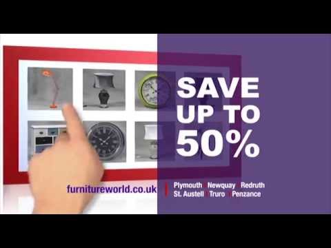 Furniture World Devon And Cornwall Spring Sale TV Advert
