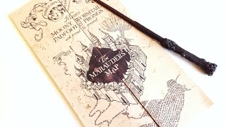 The Noble Collection Harry Potter Marauders Map review