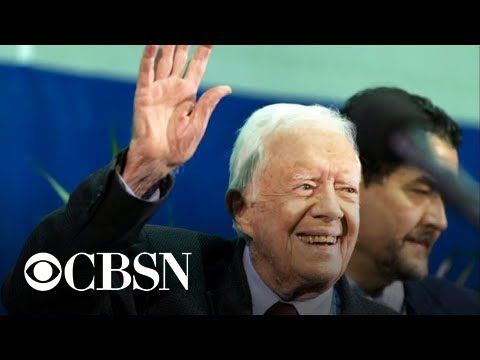 Former President Jimmy Carter hospitalized with pelvic fracture after ...