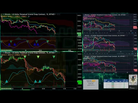 Real-time Bitmex Signals & Live Trading! BTC Price Charts