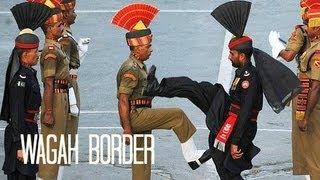 WAGAH BORDER CEREMONY واگها वाघा (Pakistan 15)