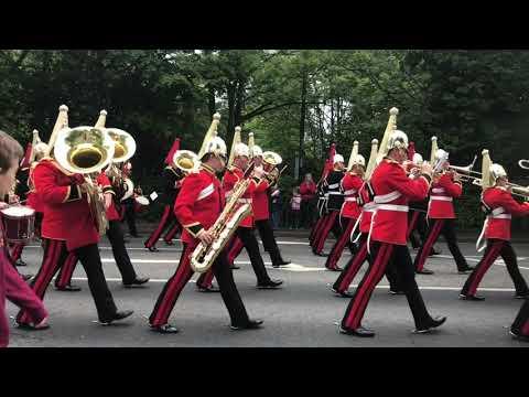 Household cavalry-farewell parade-Windsor 2019