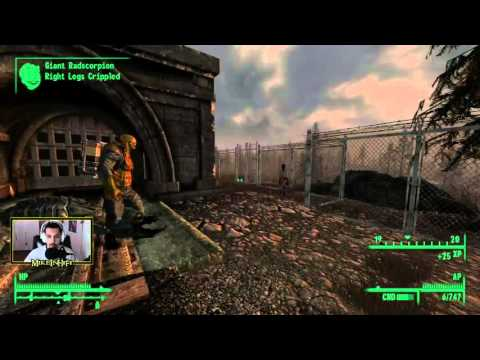 Fallout 3 - 105 - Drink the Blood! Become a Vampire!
