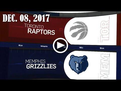 2017.12.08 NBA DAILY RECAP : TOR @ MEM