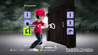 Dishonored Xbox 360 Avatar Collection