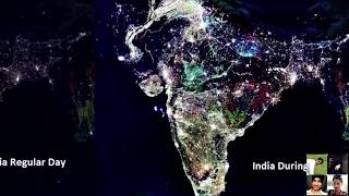 Live Footage of India From Space On Diwali Day Special