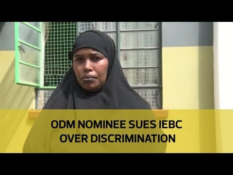 ODM nominee sues IEBC over discrimination