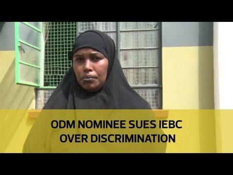 ODM nominee sues IEBC over discrimination