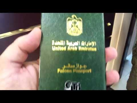 UAE Falcon Passport at Abu Dhabi Falcon Hospital
