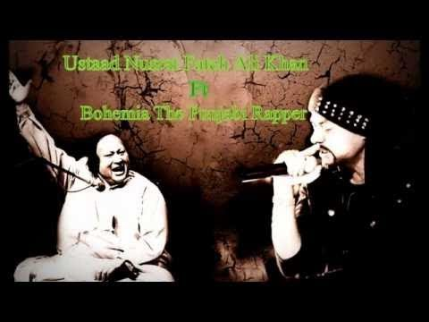 Ustad Nusrat Fateh Ali Khan | Bohemia Rap | MashUpSongs | CoverSongs
