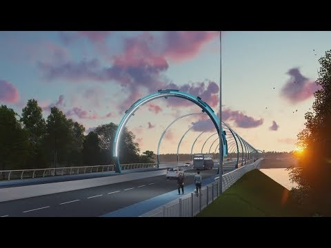 Тагильский мост построен! Real Video
