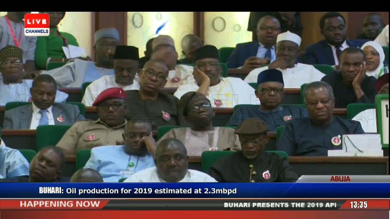 President Buhari Presents 2019 Appropriation Bill To NASS Pt.3 |Live Event|