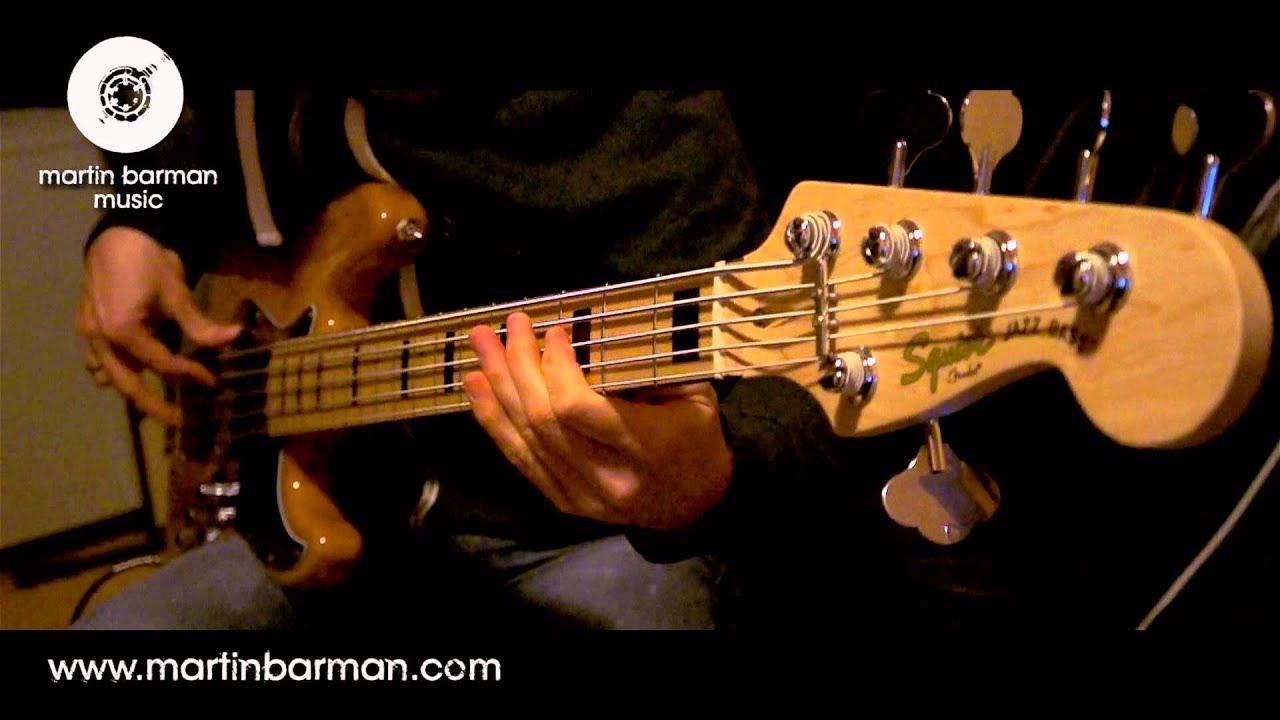 Fender Squier Vintage Jazz Bass Vanja Djujic Bass Guitar