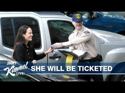 Ken Payne - Adam Levine Pranks LA Drivers With 'Parking Tickets'