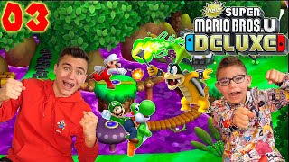 On Découvre la JUNGLE CASSIS et IGGY ! - Super Mario Bros U Deluxe Épisode 3 - Nintendo Switch co-op