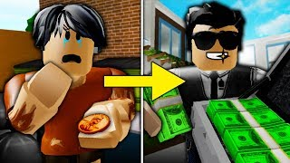 Poor To Rich Part 4: The Mean Manager Gets Arrested! ( A Sad Bloxburg Movie)