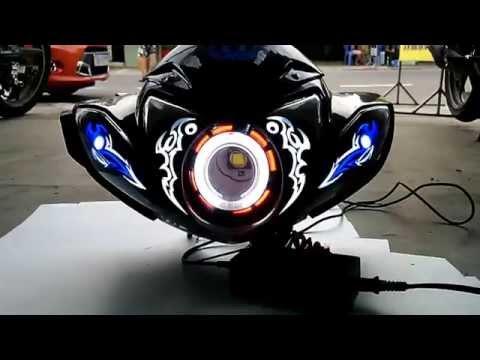 full led audi đầu đèn Sirius + Mão chế đèn led + Đèn cầu led...fb: Đèn Led Audi - CR79