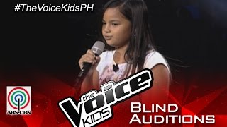 "The Voice Kids Philippines 2015 Blind Audition: ""Blank Space"" By Alexia"