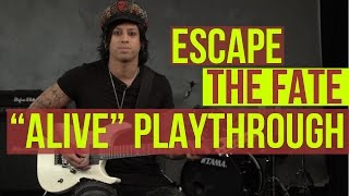 "Escape the Fate - ""Alive"" Playthrough with Thrasher"