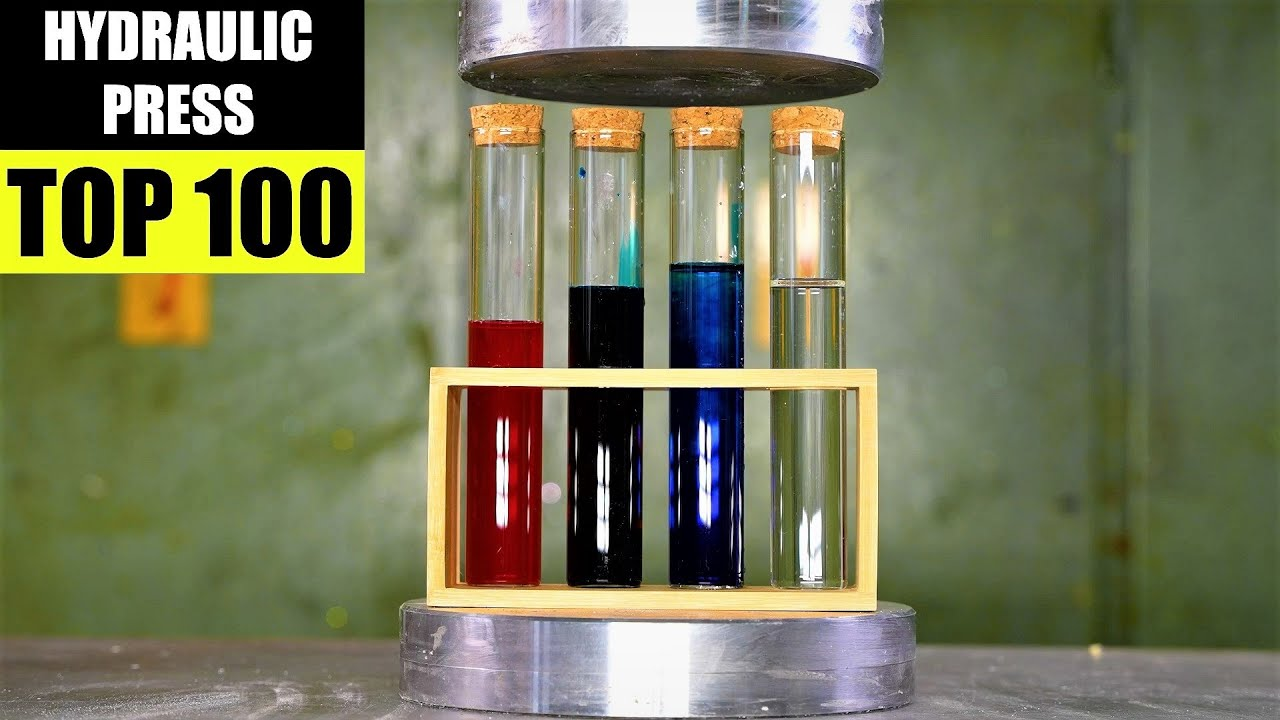 The Most Satisfying Hydraulic Press Videos EVER! New Oddly Satisfying ULTRA SMOOTH 4k 50fps