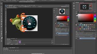 Как в фотошопе cc сохранить анимацию в формате gif или как видео