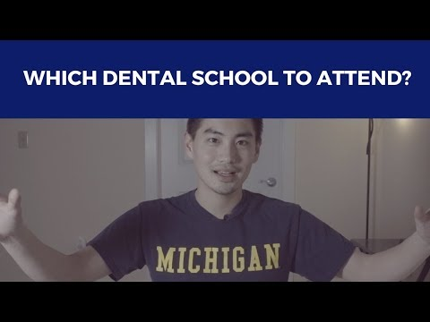 WHICH DENTAL SCHOOL should you attend? | keVLOG