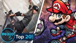 Top 20 Sports Viḋeo Games of All Time