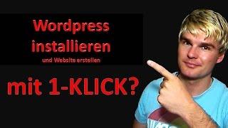 Wordpress installieren und Website mit Wordpress erstellen der einfache Weg