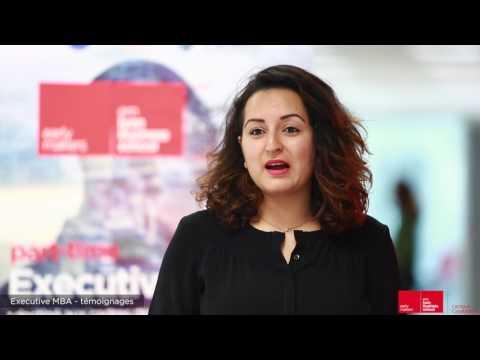 Témoignage Bahaa Kenfaoui EMBA emlyon business school campus Casablanca 2017 2018