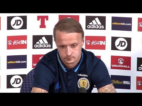Leigh Griffiths Pre-Match Press Conference - Scotland v Slovenia