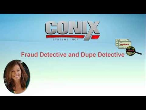 CONIX Solution Demo Fraud and Dupe Detective