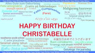 Christabelle   Languages Idiomas - Happy Birthday