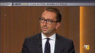 """Alfonso bonafede (m5s) a otto e mezzo: da cittadino diventa """"onorevole"""" (13.06.2015)"""