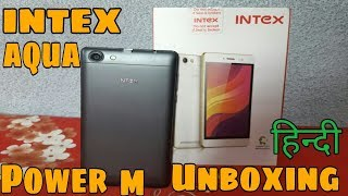 Intex Aqua Power M Full Unboxing In [Hindi&Urdu]