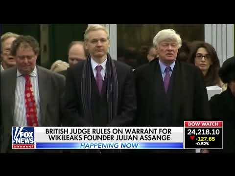 British judge rules warrant for Julian Assange still stands