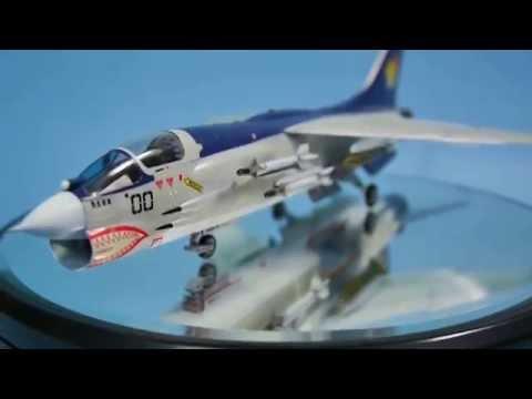 エリア88 F-8E クルーセイダー シン・カザマ 完成品
