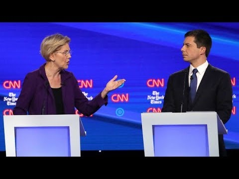 elizabeth-warren-unleashes-on-pete-buttigieg-|-food-fight-for-4th-place-smears-both