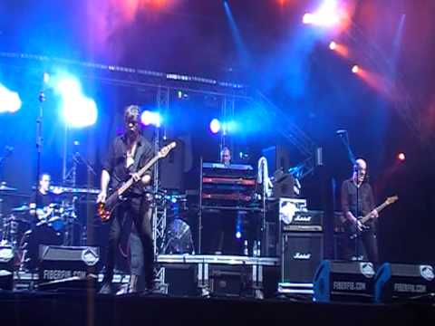 Walk on By the Stranglers at Benicassim 2011.